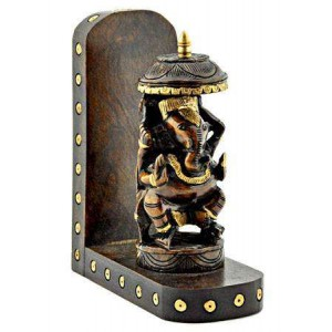Lord Ganesh Carved Wood Wall Altar Majestic Dragonfly Home Decor, Artwork, Unique Decorations