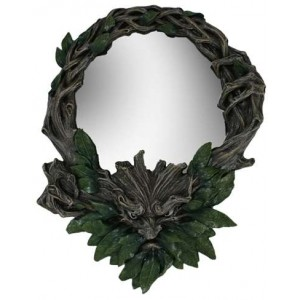 Greenman Wall Mirror Majestic Dragonfly Home Decor, Artwork, Unique Decorations