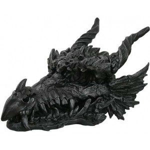 Dragon Skull Large Statue Majestic Dragonfly Home Decor, Artwork, Unique Decorations