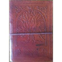 Tree of Life 7 Inch Leather Journal
