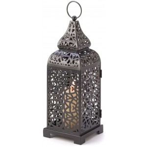 Moroccan Tower Candle Lantern Majestic Dragonfly Home Decor, Artwork, Unique Decorations