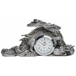 Dragonlore Desk Clock at Majestic Dragonfly, Home Decor, Artwork, Unique Decorations