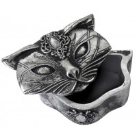 Sacred Cat Trinket Box