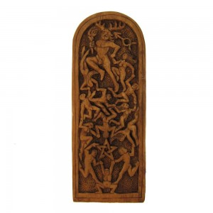 Lord of the Dance Pagan God Plaque by Paul Borda Majestic Dragonfly Home Decor, Artwork, Unique Decorations