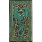 Celtic English Dragon Tapestry - Twin Size Green at Majestic Dragonfly, Home Decor, Artwork, Unique Decorations