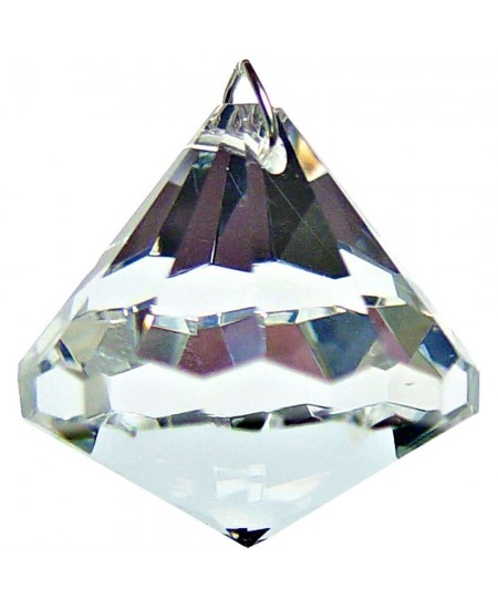 Crystal Prism Faceted Diamond at Majestic Dragonfly, Home Decor, Artwork, Unique Decorations