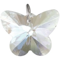 Crystal Prism Faceted Butterfly