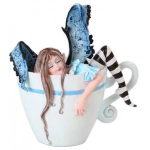 I Need Coffee Fairy by Amy Brown Majestic Dragonfly Home Decor, Artwork, Unique Decorations
