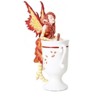 Cider Fairy by Amy Brown Majestic Dragonfly Home Decor, Artwork, Unique Decorations