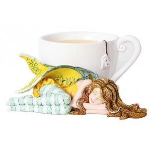 Chamomile Tea Fairy by Amy Brown Majestic Dragonfly Home Decor, Artwork, Unique Decorations