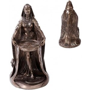 Danu Bronze Celtic Mother Goddess Statue
