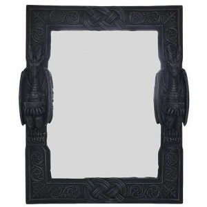 Celtic Dragon Wall Mirror Majestic Dragonfly Home Decor, Artwork, Unique Decorations
