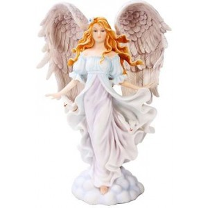 Seraphim Angel of Purity Statue Majestic Dragonfly Home Decor, Artwork, Unique Decorations