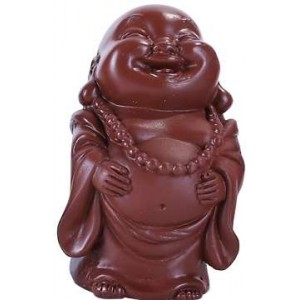 Maitreya Laughing Buddha 4 Piece Statue Set Majestic Dragonfly Home Decor, Artwork, Unique Decorations