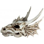 Dragon Skull Statue at Majestic Dragonfly, Home Decor, Artwork, Unique Decorations