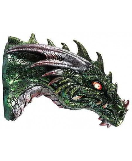 Dragon LED Light Wall Plaque at Majestic Dragonfly, Home Decor, Artwork, Unique Decorations
