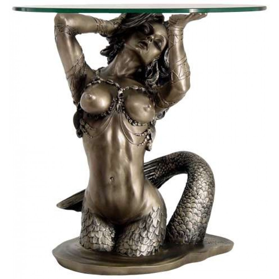Lovely Sunsaitable Mermaid Table By Monte Moore At Majestic Dragonfly, Home Decor,  Artwork, Unique