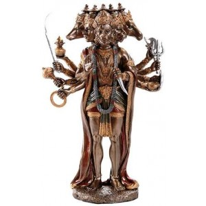 Hanuman Hindu God 10 Inch Statue Majestic Dragonfly Home Decor, Artwork, Unique Decorations
