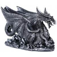 Winged Dragon Gothic Wine Bottle Holder