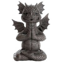 Garden Dragon Yoga Statue