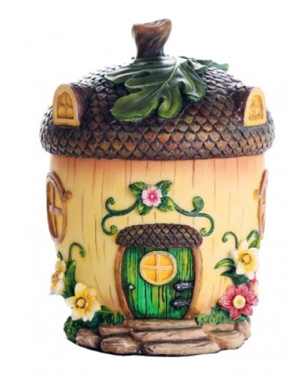 Acorn Fairy Garden House at Majestic Dragonfly, Home Decor, Artwork, Unique Decorations