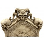 Skull Throne Gothic Chair at Majestic Dragonfly, Home Decor, Artwork, Unique Decorations