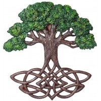 Tree of Life Celtic Knot Wall Plaque