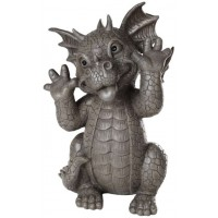 Taunting Dragon Garden Statue