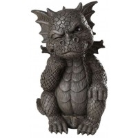 Thinker Dragon Garden Statue
