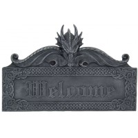 Dragon Welcome Wall Sign