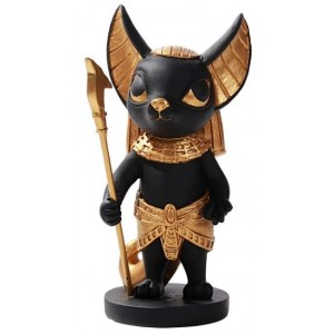 Anubis Little Egyptian Statue Majestic Dragonfly Home Decor, Artwork, Unique Decorations
