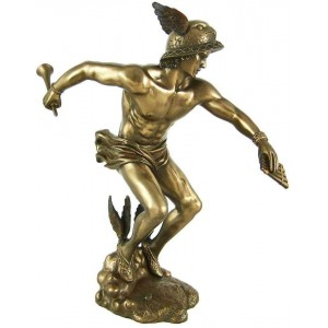Hermes Greek God of Commerce, Communications and Wealth Majestic Dragonfly Home Decor, Artwork, Unique Decorations