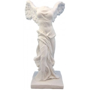 Nike Small Winged Victory Statue Majestic Dragonfly Home Decor, Artwork, Unique Decorations