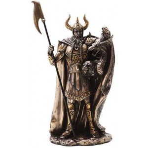 Loki Norse God Statue Majestic Dragonfly Home Decor, Artwork, Unique Decorations