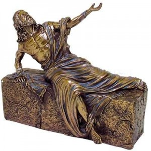 Jesus, He is Risen Bronze Christian Statue Majestic Dragonfly Home Decor, Artwork, Unique Decorations