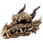 Dragon Skull Large Bone Resin Statue at Majestic Dragonfly, Home Decor, Artwork, Unique Decorations