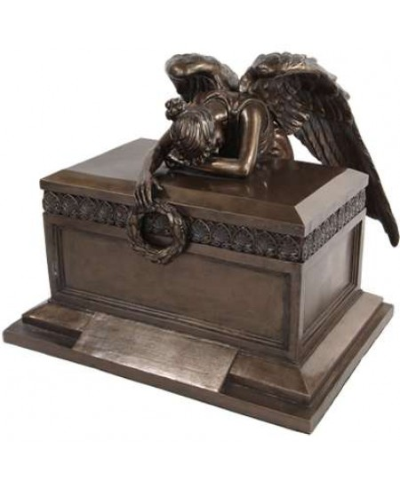 Angel of Bereavement Bronze Memorial Urn at Majestic Dragonfly, Home Decor, Artwork, Unique Decorations