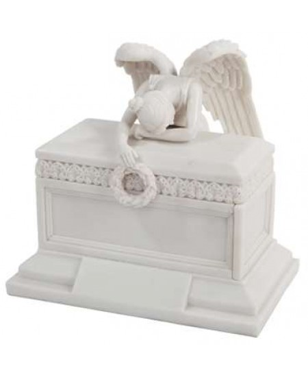 Angel of Bereavement Memorial Keepsake Urn at Majestic Dragonfly, Home Decor, Artwork, Unique Decorations