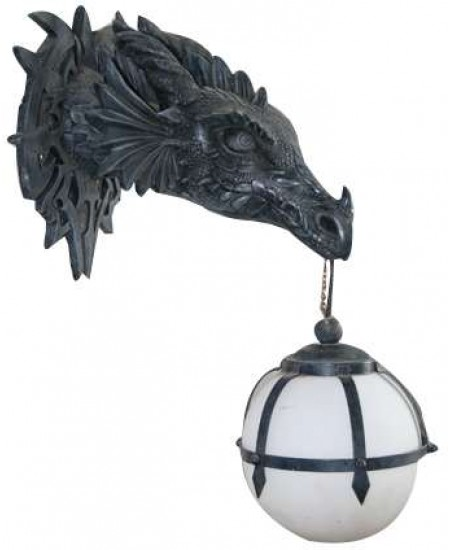 Marshgate Castle Dragon Wall Sconce at Majestic Dragonfly, Home Decor, Artwork, Unique Decorations