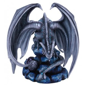 Rock Dragon Age of Dragons Statue Majestic Dragonfly Home Decor, Artwork, Unique Decorations
