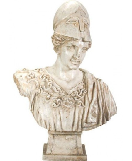 Athena Minerva Goddess Bust Statue at Majestic Dragonfly, Home Decor, Artwork, Unique Decorations