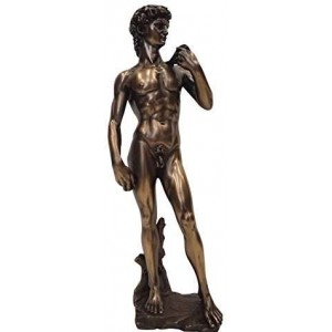 David by Michelangelo Classical Art Statue Majestic Dragonfly Home Decor, Artwork, Unique Decorations