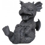 Laughing Dragon Garden Statue at Majestic Dragonfly, Home Decor, Artwork, Unique Decorations