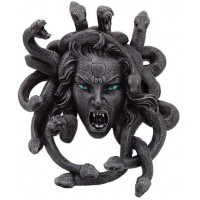 Medusa Head Greek Gorgon Plaque