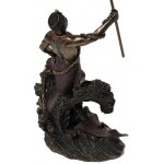 Olokun, African Orisha God Statue at Majestic Dragonfly, Home Decor, Artwork, Unique Decorations