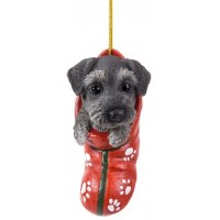 Schnauzer Pet Pals Christmas Stocking Ornament