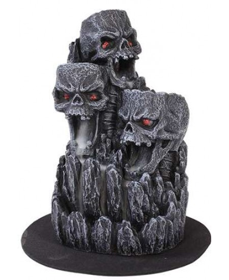 Skull Mountain Backflow Incense Tower at Majestic Dragonfly, Home Decor, Artwork, Unique Decorations