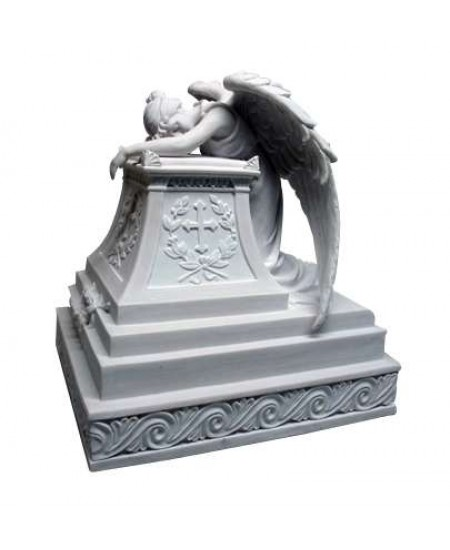 Mourning Angel Memorial Urn at Majestic Dragonfly, Home Decor, Artwork, Unique Decorations