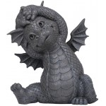 Garden Dragon Yoga Stretch Statue at Majestic Dragonfly, Home Decor, Artwork, Unique Decorations
