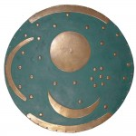 Sky Disc of Nebra Bronze Plaque at Majestic Dragonfly, Home Decor, Artwork, Unique Decorations